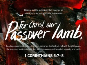 For Christ Our Passover Lamb